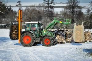 Holz Im Winter-2